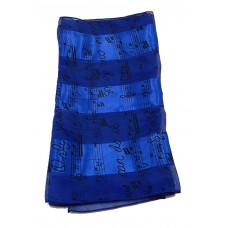 "Scarf - ""Only Jesus Can Do It"" (Royal Blue)"
