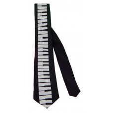 Skinny Neck Tie (Centered Keyboard)