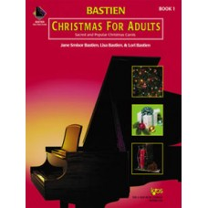 Bastien Christmas For Adults Book 1 (Book Only)