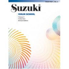 Suzuki Violin School Revised - Violin Volume 6