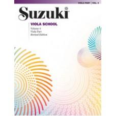 Suzuki Viola School Revised - Viola Volume 4