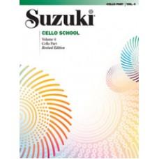 Suzuki Cello School Revised - Cello Volume 4