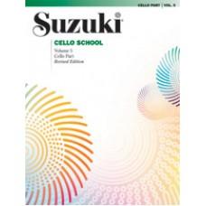 Suzuki Cello School Revised - Cello Volume 5
