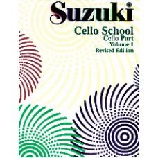 Suzuki Cello School Revised - Cello Volume 1
