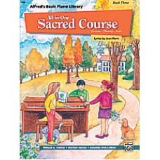Alfred Basic All-in-One Sacred Course - Book 3