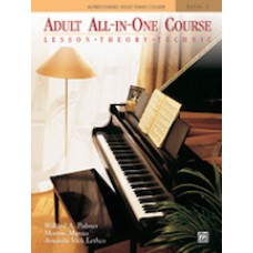 Alfred Basic Adult All-in-One Course - Book 1