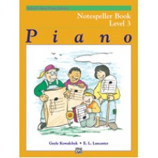 Alfred Basic Piano Library Notespeller Book - Level 3