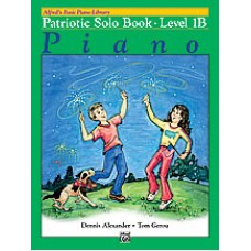 Alfred Basic Piano Library Patriotic Solo Book - Level 1B