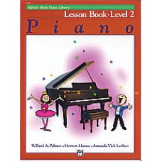Alfred Basic Piano Library Lesson Book - Level 2