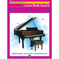 Alfred Basic Piano Library Lesson Book - Level 4