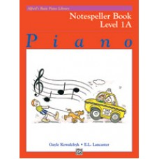 Alfred Basic Piano Library Notespeller Book - Level 1A