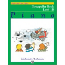 Alfred Basic Piano Library Notespeller Book - Level 1B