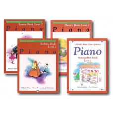 Alfred's Basic Piano Library - Level 2 Set