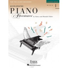 Piano Adventures Accelerated: Lesson Book Level 1