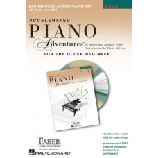 Piano Adventures Accelerated: Lesson Book with Enhanced CD Level 1