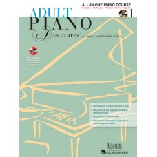 Piano Adventures Adult: All-in-one Book 1 with CD/DVD Set
