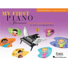 MY FIRST PIANO ADVENTURE Lesson Book C with Online Audio