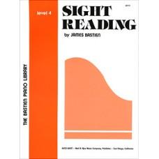 Bastien Sight Reading - Level 4
