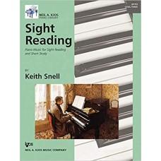 Sight Reading - Diane Hidy - Level 3