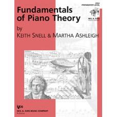 Fundamentals of Piano Theory - Prep Level