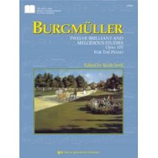 Burgmüller: Twelve Brilliant and Melodious Studies&comma Opus 105