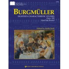 Burgmüller: Eighteen Characteristic Studies&comma Opus 109