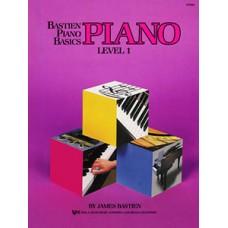Bastien Piano Basics: Piano Book Level 1