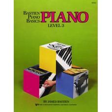 Bastien Piano Basics: Piano Book Level 3