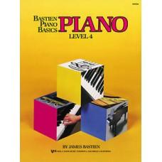 Bastien Piano Basics: Piano Book Level 4