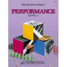 Bastien Piano Basics: Performance Book Level 1