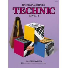 Bastien Piano Basics: Technic Book Level 1