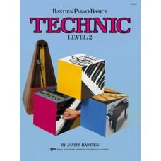 Bastien Piano Basics: Technic Book Level 2