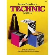 Bastien Piano Basics: Technic Book Level 4