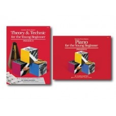 Bastien Piano Basics for the Young Beginner Primer B Level - Two Book Set - Piano and Theory & Technic Books