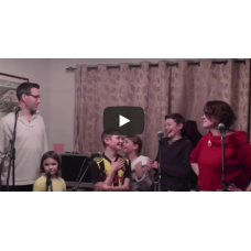 Family recreates 'One Day More' from Les Misérables in hilarious quarantine spoof