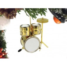 Ornament - Drum Set (brass)