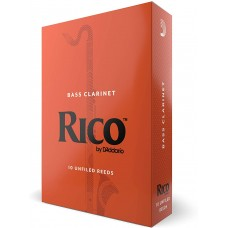 Rico Bass Clarinet Reeds - Box of 10
